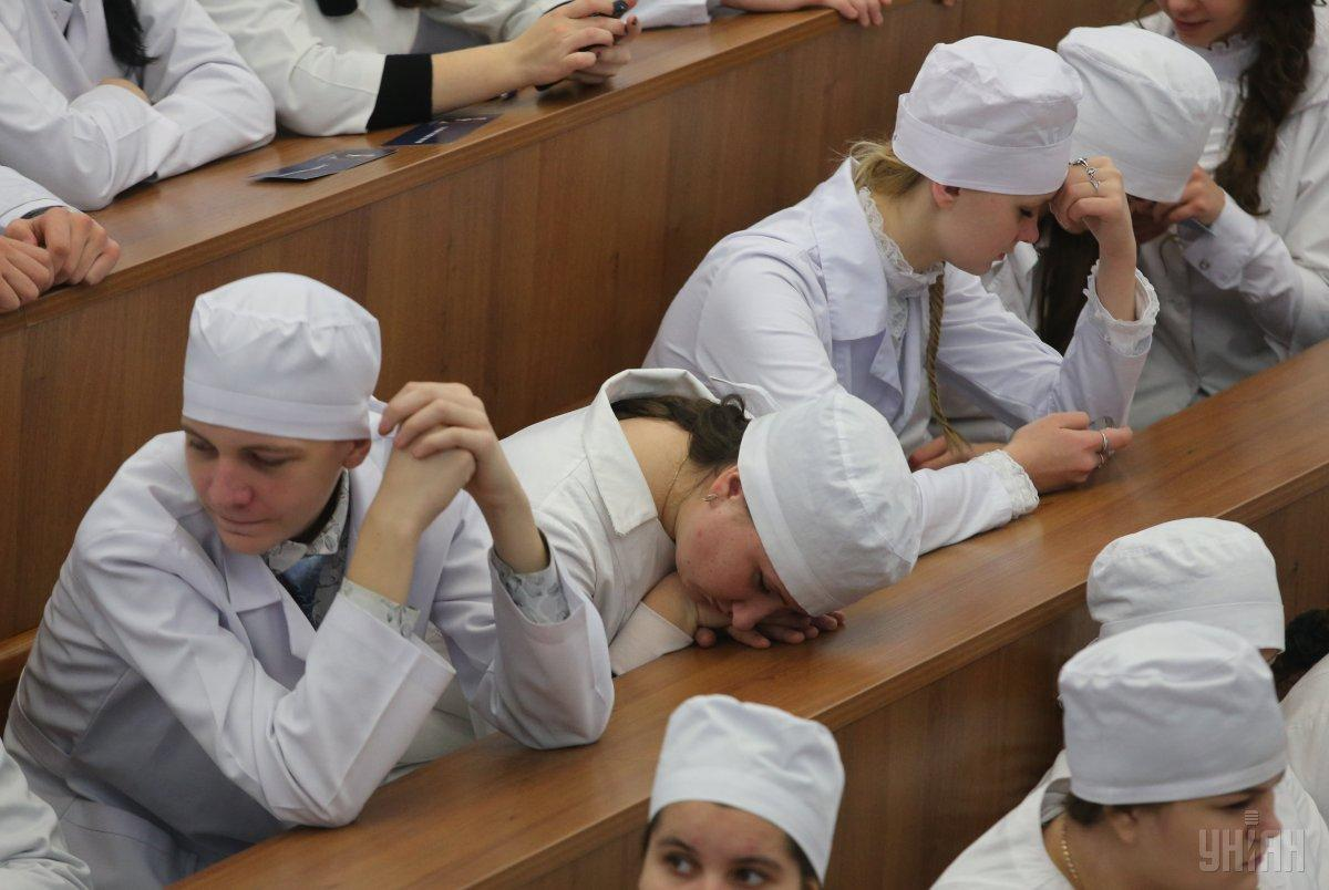 Учебный процесс и научная деятельность в НМУ имени Богомольца полностью останавливаются на неопределенное время / Фото УНИАН