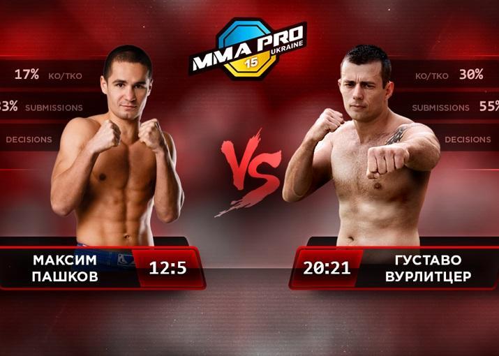 Пашков стал чемпионом Европы по ММА / mmapro.com.ua/
