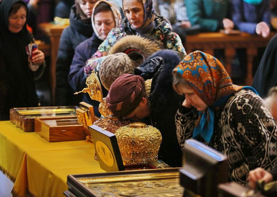 Торжество Православия в Святогорской лавре / svlavra.church.ua