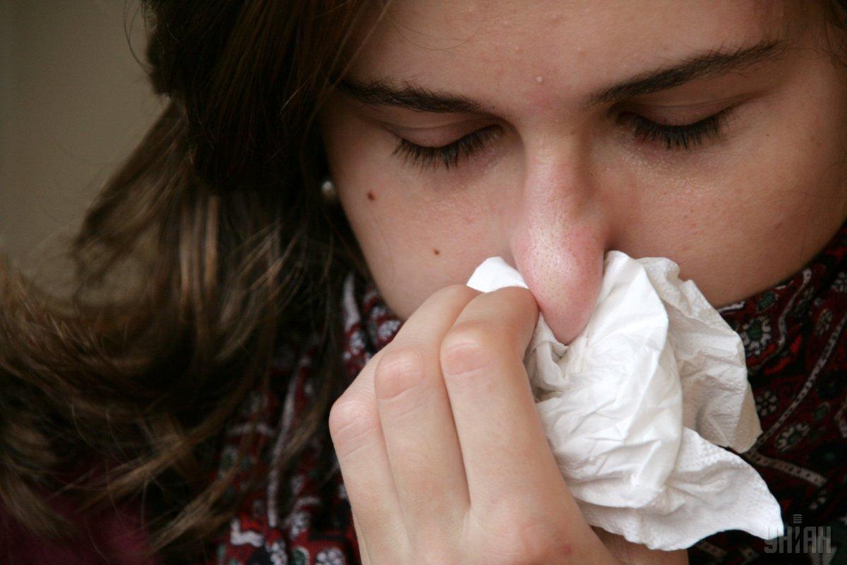 В течение последней недели года гриппом и ОРВИ заболели более 190 тысяч человек / УНИАН