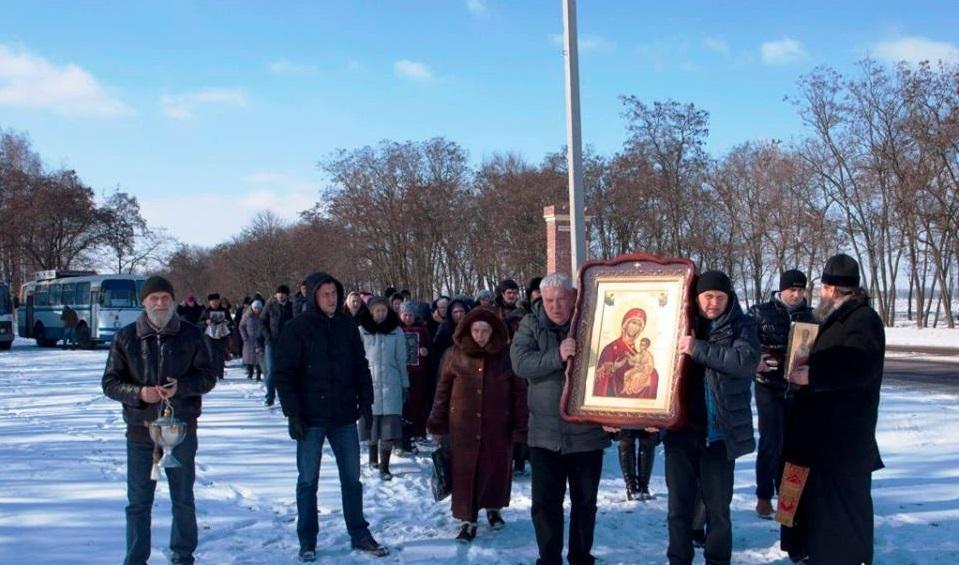 Хресна  хода у Кропивницькому відбулася на автобусах / orthodox-kr.org.ua