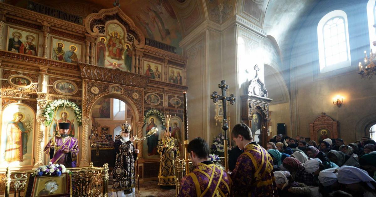 Патріарх закликав віруючих навчитися терпіти з відкритим серцем / foto.patriarchia.ru