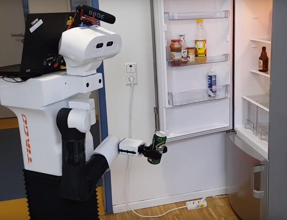 Робот TIAGo справился с задачей / Кадр из видео