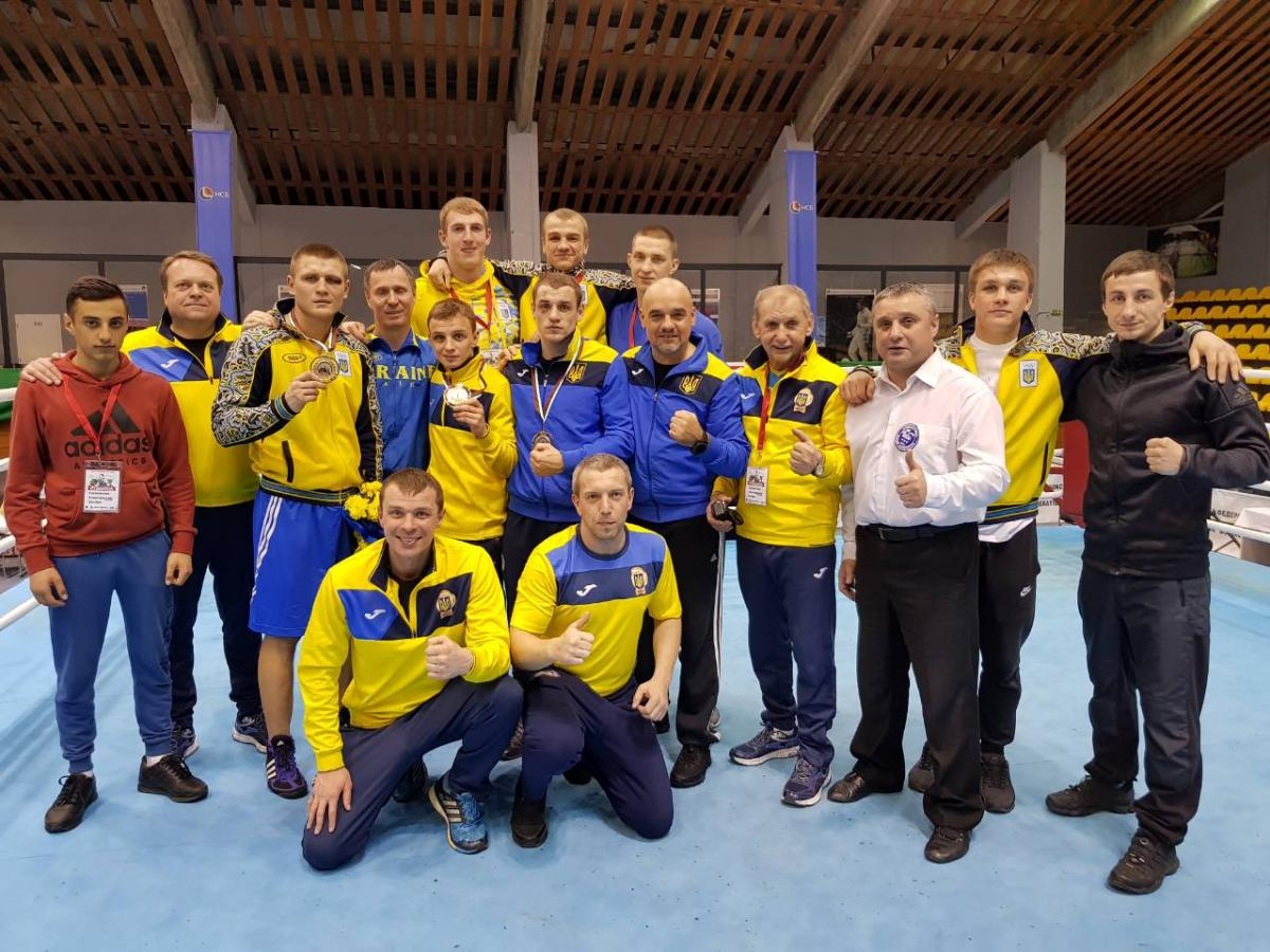 Ukraine's national team / Photo from fbu.ua