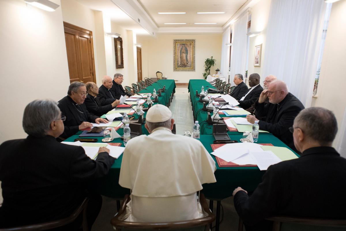Папа Римский встретился с Советом кардиналов / radiovaticana.va