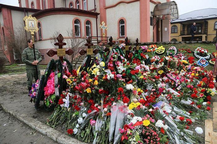 Погибшие прихожанки были похоронены на территории храма / goragospodnya.ru