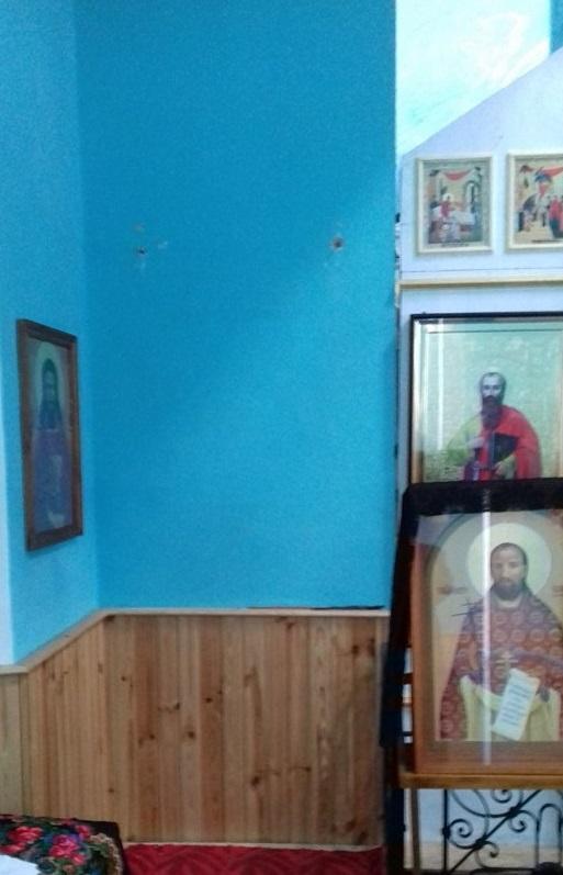 Воры вынесли из храма две иконы, возраст которых достигает трехсот лет / orthodox-kr.org.ua