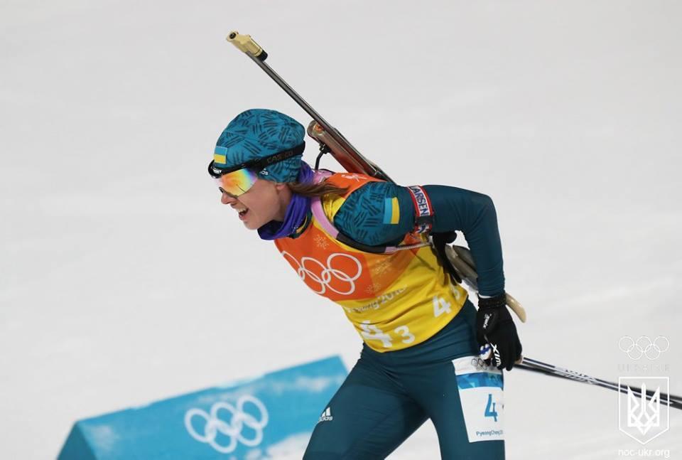 Українка Джима пропустить спринтерську гонку на другому етапі Кубка світу з біатлону