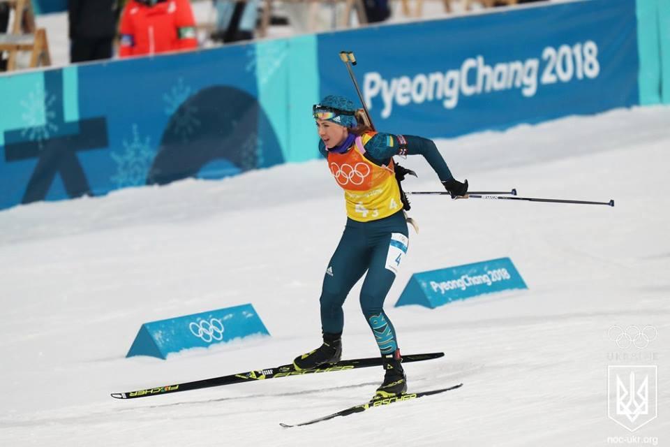 Юлия Джима не завоевала в Пхенчхане ни одной медали / НОК Украины