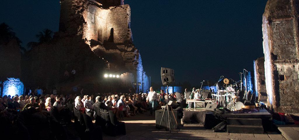 Концерти проходять біля храму Святого Августина, в якому були виявлені мощі грузинської цариці / newsgeorgia.ge