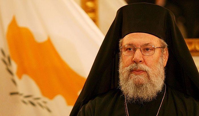 Архієпископ Кіпрський Хризостом / kibrisgazetesi.com