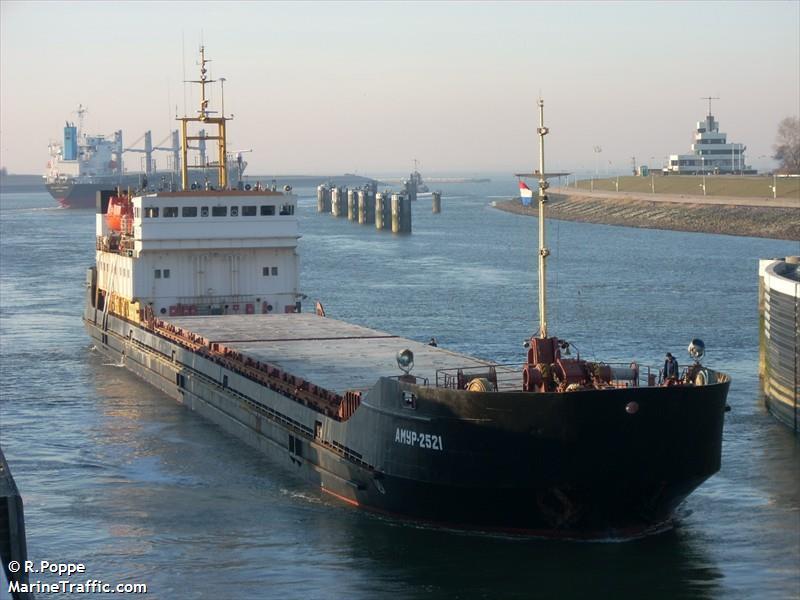 Моряк утверждает, что не получил зарплату за последние полгода - около 14 тыс. долл / Фото marinetraffic.com