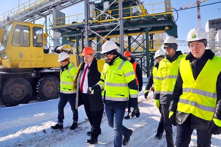 Новое предприятие компании «Монсанто» станет одним из крупнейших семенных заводов не только в Украине, но и в мире / фото oda.zt.gov.ua