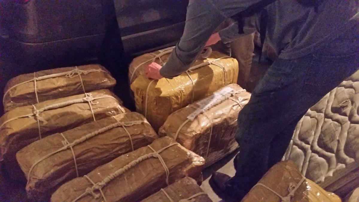 Изъятый в Аргентине российский кокаин / REUTERS