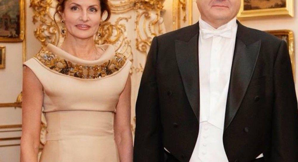 Марина Порошенко на Венском балу  платье первой леди пошито на заказ b76538ffd418f