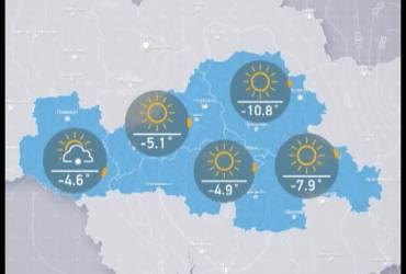 Прогноз погоди в Україні на середу, вечір 21 лютого