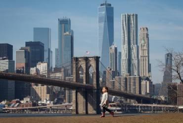 В Нью-Йорке установилась рекордно теплая погода