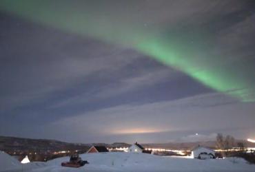 У Норвегії на відео зняли яскраве північне сяйво