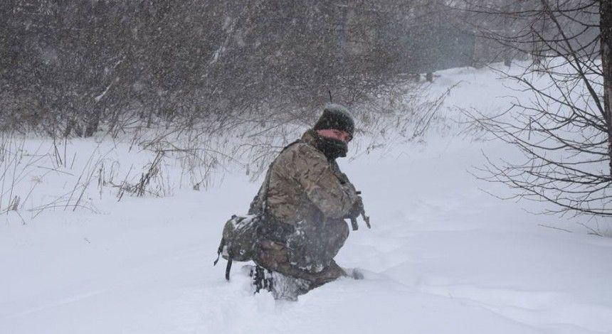 Russian proxies attack Ukraine 10 times on Feb 17