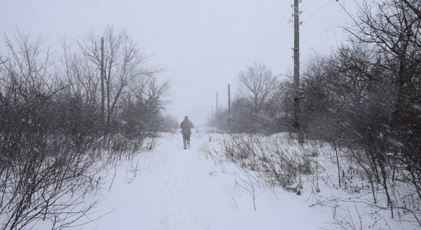 JFO: One Ukrainian soldier wounded in Donbas in past day