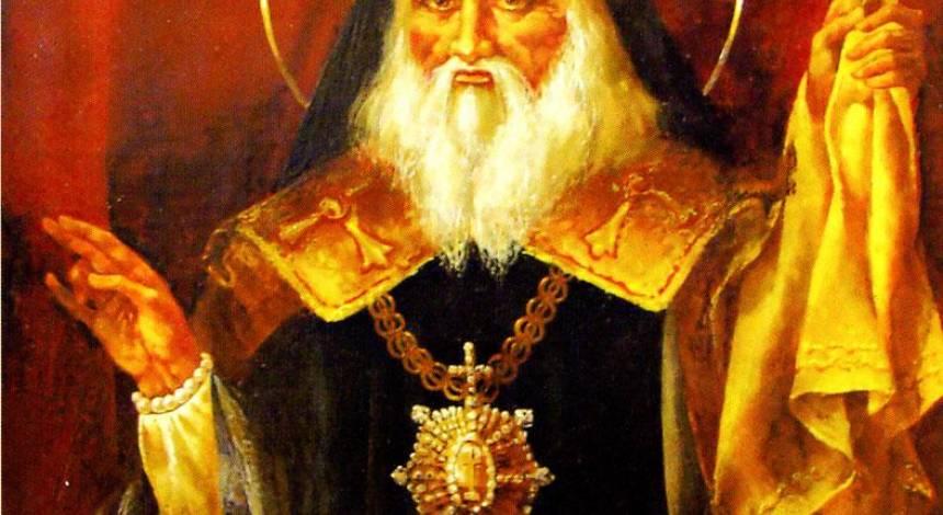 Митрополит Ігнатій - святий засновник Маріуполя, який був похований сидячи у креслі