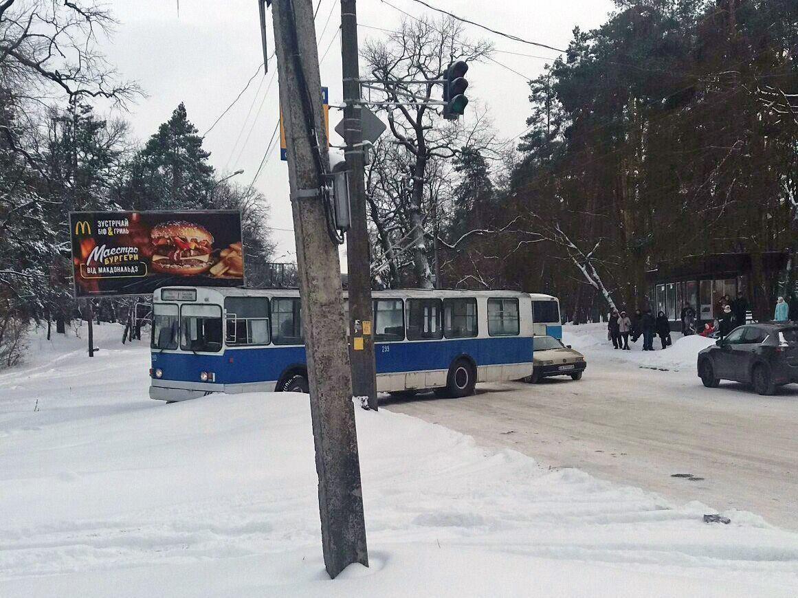 В Полтаве мужчину ударило током на выходе из троллейбуса / фотоиллюстрация / Валерий Мироненко в Facebook