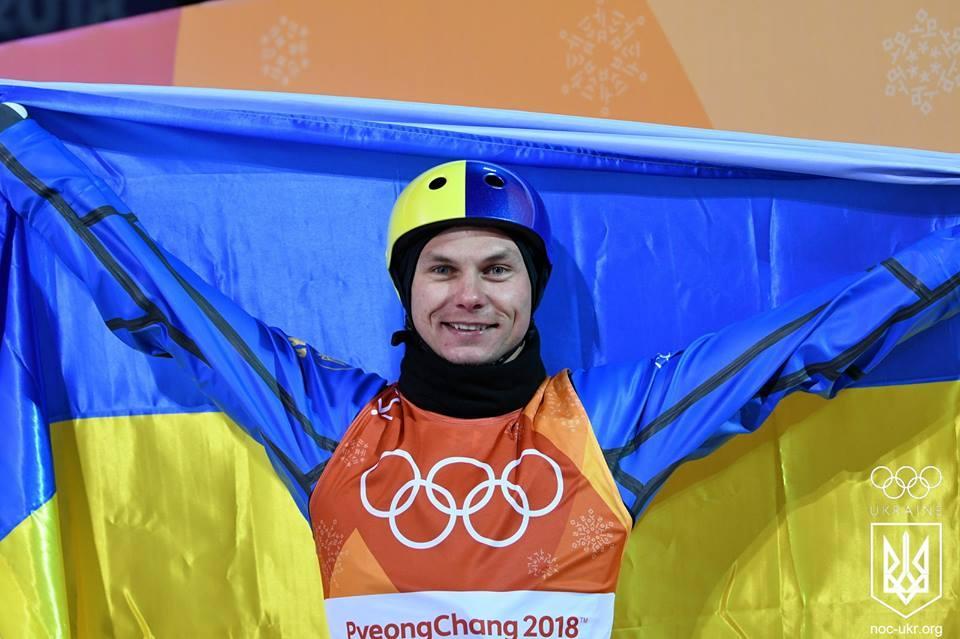 Олександр Абраменко - завоював золоту медаль на Зимовій Олімпіаді у Китаї / фото НОК Украины
