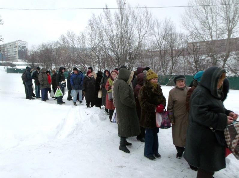 Нуждающиеся могут гарантированно получить помощь на территории церковного комплекса / sobor.in.ua