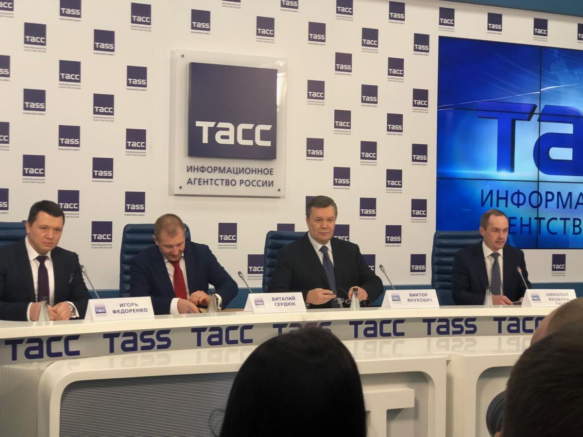 Вице-спикер Совета недовольна тем, что московскую пресс-конференцию Януковича транслировали украинские телеканалы / УНИАН