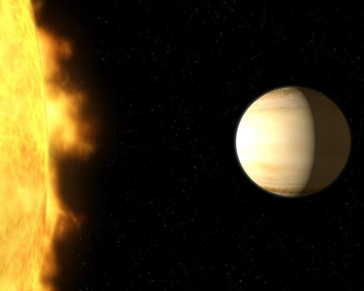 WASP-39b удалена от Земли на расстояние 700 световых лет / фото NASA