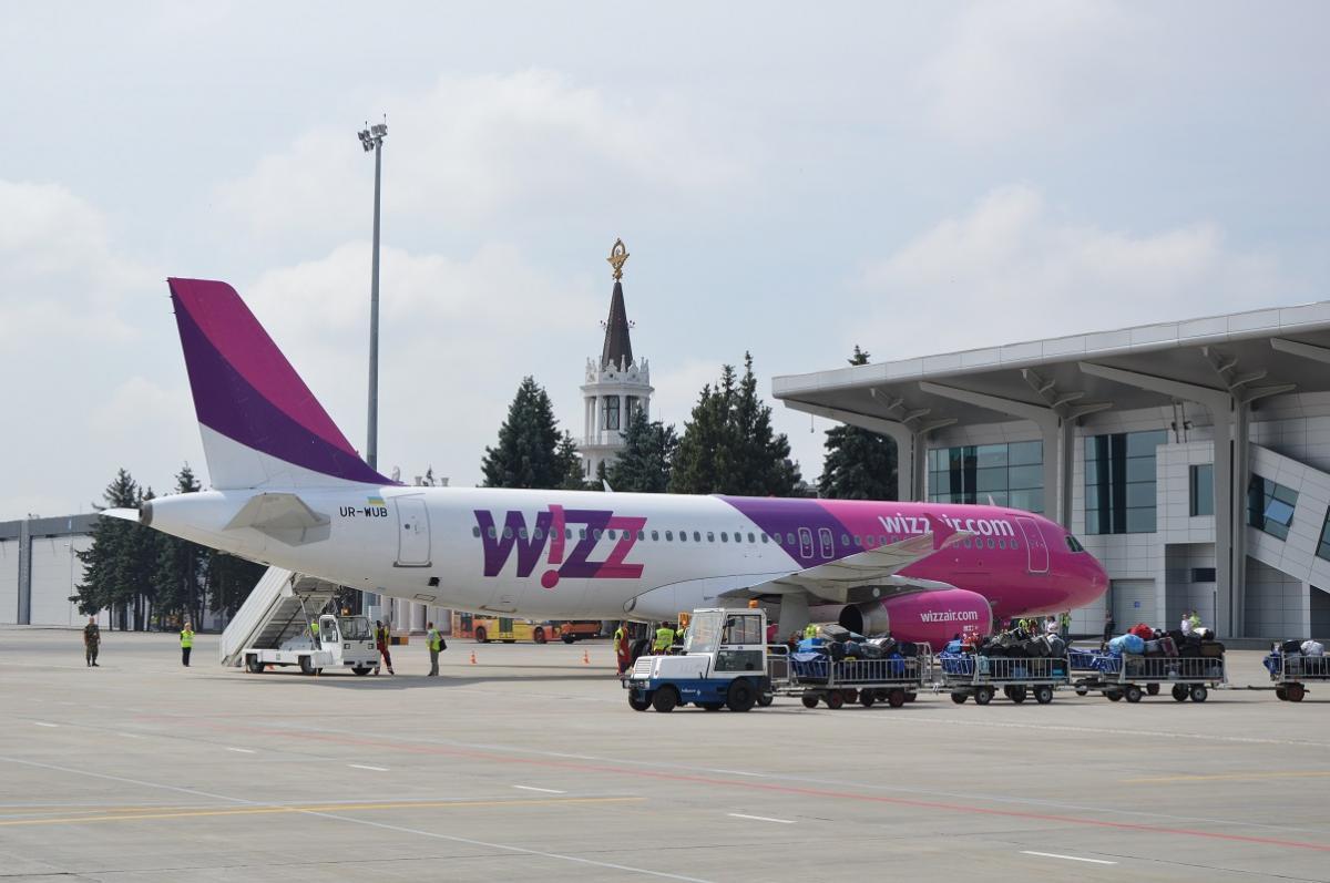 Осенью WizzAir начнет выполнять два рейса в неделю