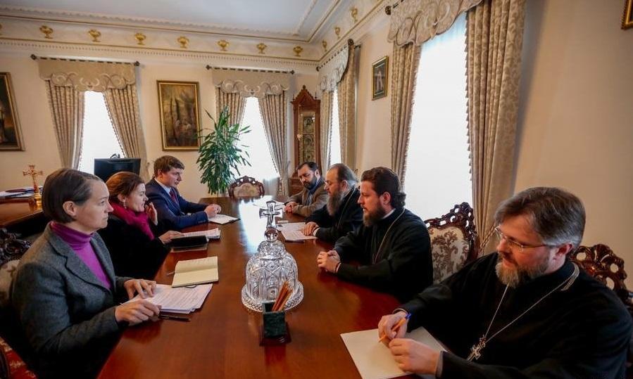 Встреча состоялась в Киево-Печерской лавре / mitropolia.kiev.ua