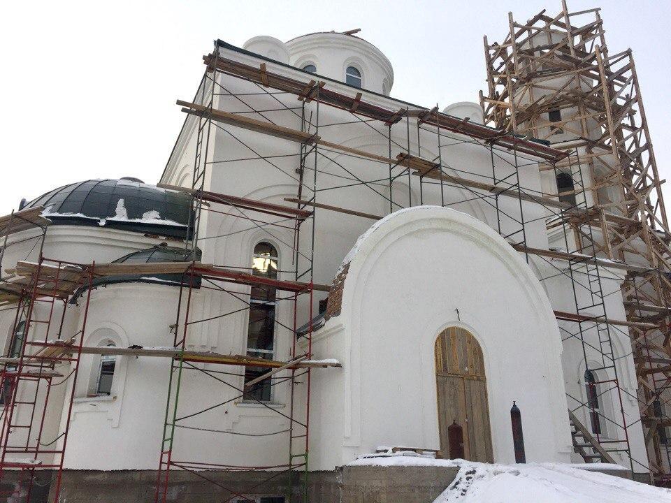 Жители Абакана строят храм всем миром / pravmir.ru