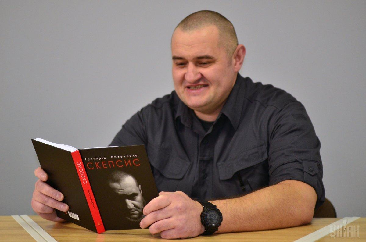 Мобілізований офіцер провів рік на фронті і написав книгу / Фото УНІАН