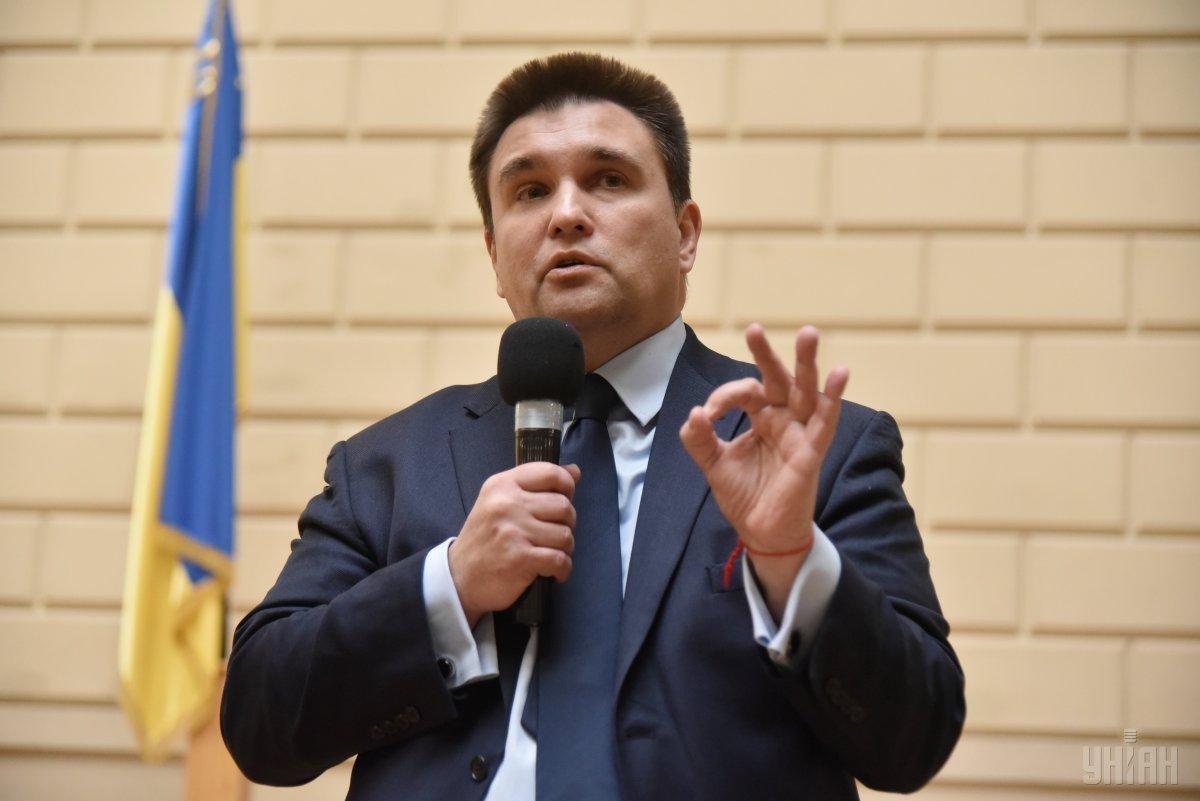 По словам Климкина, он изложил венгерскому коллеге свою аргументацию / фото УНИАН
