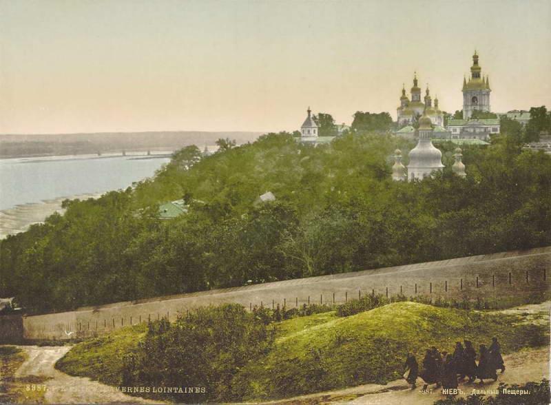 Киево-Печерская лавра на открытке 1904 г. / myslenedrevo.com.ua