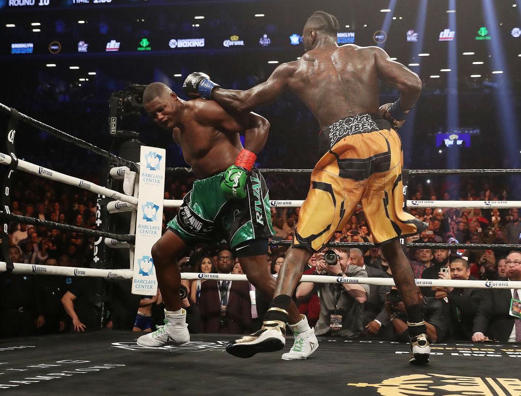 Уайлдер отстоял титул WBC в бою с Ортисом / isport.ua/boxing