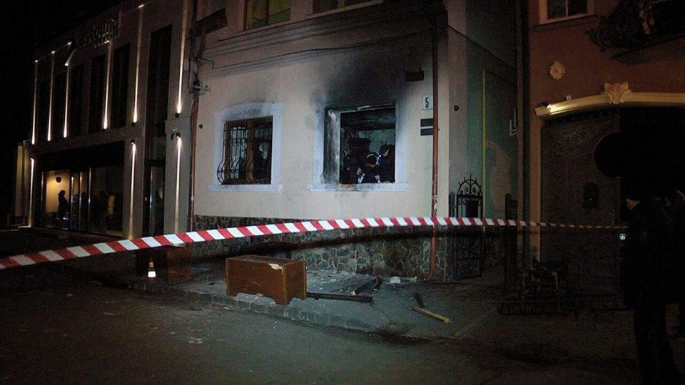 Полиция раскрыла нападения на общество венгров в Ужгороде / фото facebook.com/sergii.knyazev