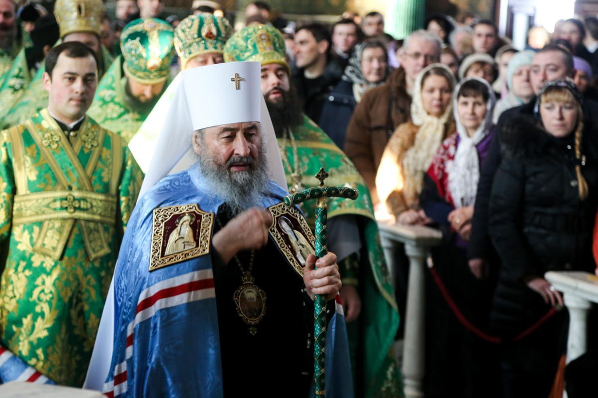 Блаженнейший Митрополит Онуфрий рассказал о чествуемых в этот день Печерских угодниках Божии/ lavra.ua