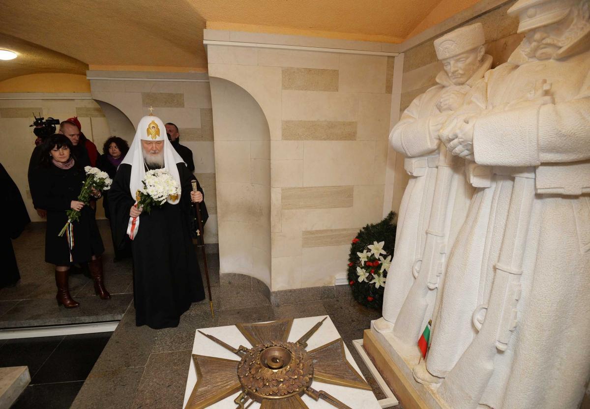 Национальный праздник Республики Болгарии на горе Шипка / foto.patriarchia.ru