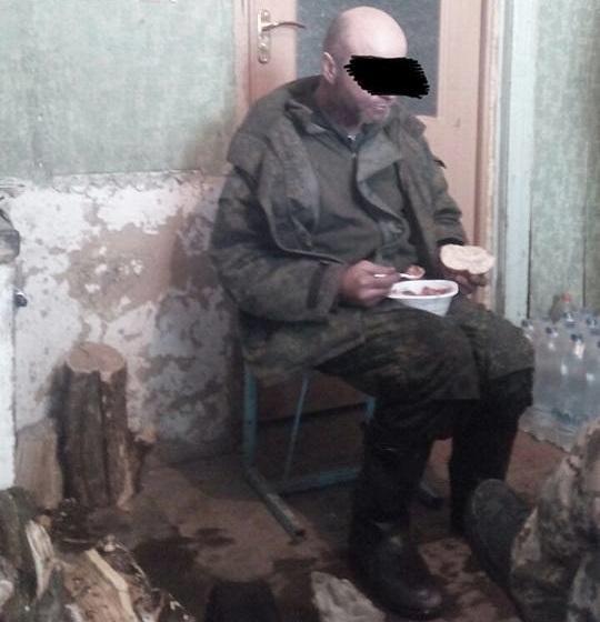 Бойовик мав при собі російський паспорт / фото facebook.com/57InfantryBrigade
