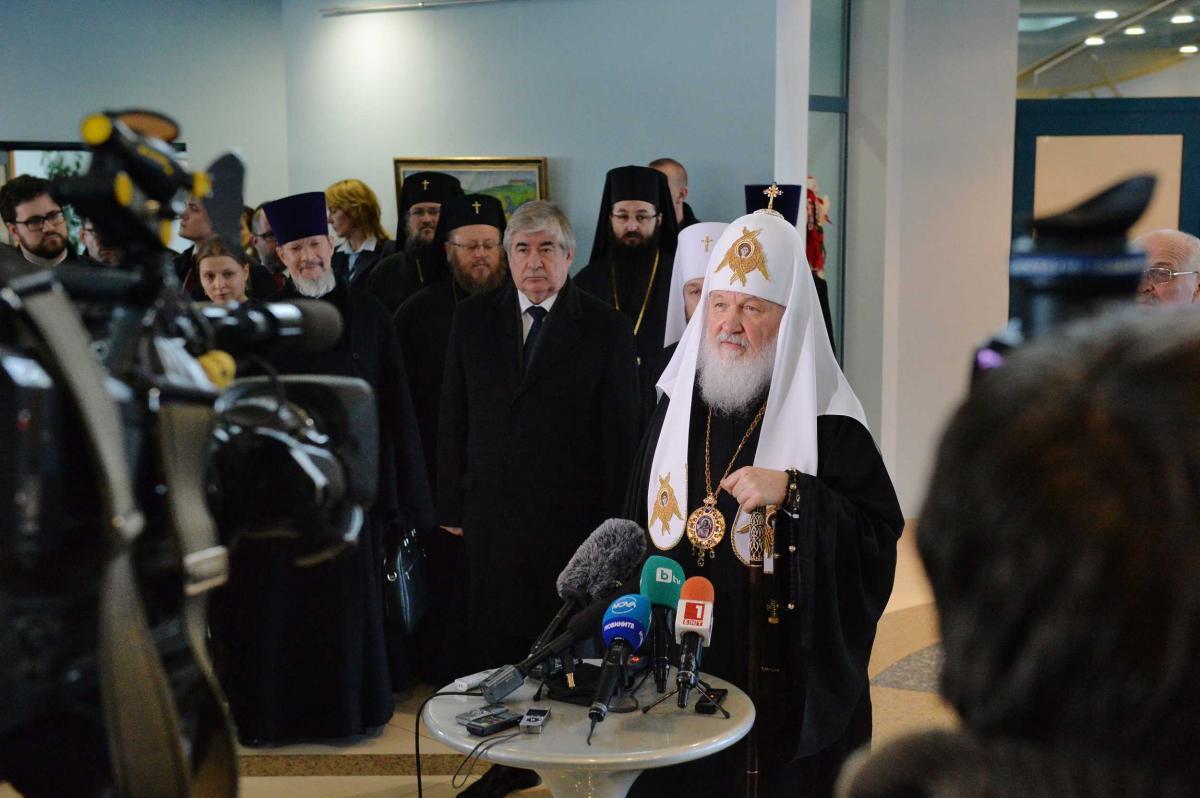 Завершився візит Патріарха Кирила в Болгарію / foto.patriarchia.ru