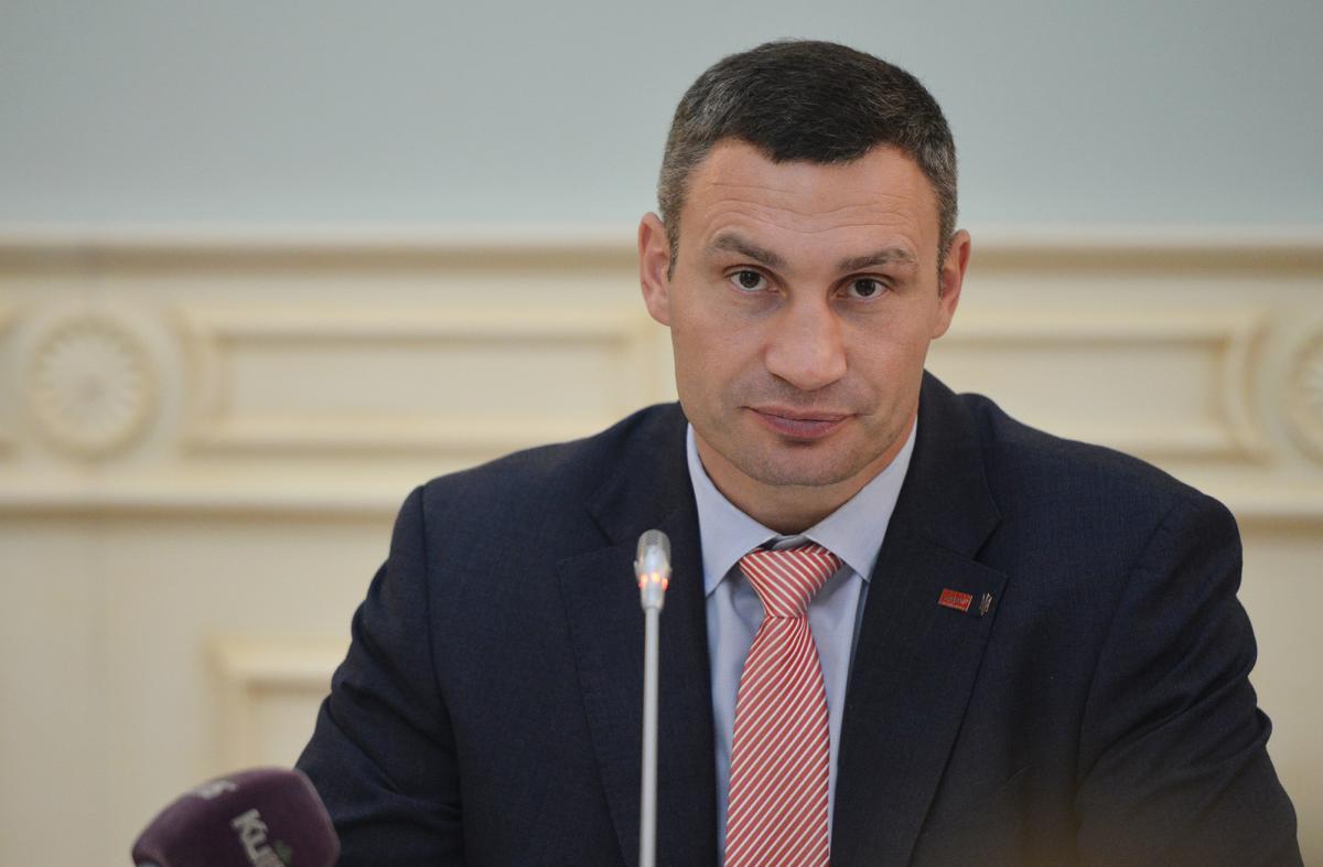 Виталий Кличко / Фото пресс-службы КГГА