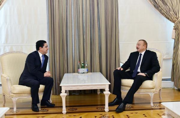 Встреча Ильхама Алиева с главой делегации Марокко / islam-today.ru
