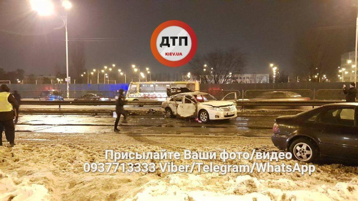 ЗМІ дізналися подробиці події на Броварському проспекті / facebook.com/dtp.kiev.ua