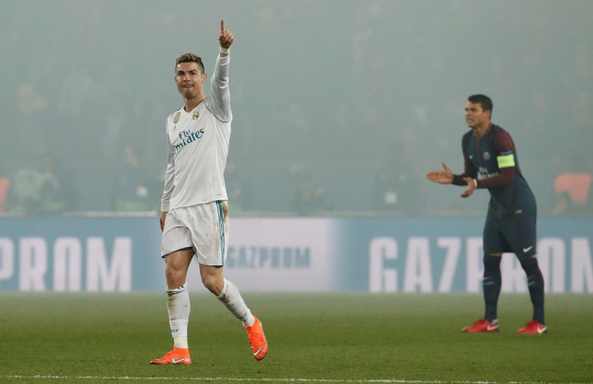 Криштиану Роналду обновил свои рекорды в еврокубках / REUTERS