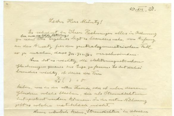У листі Ейнштейн описав фінальні етапи розвитку теорії / фото winners-auctions.com