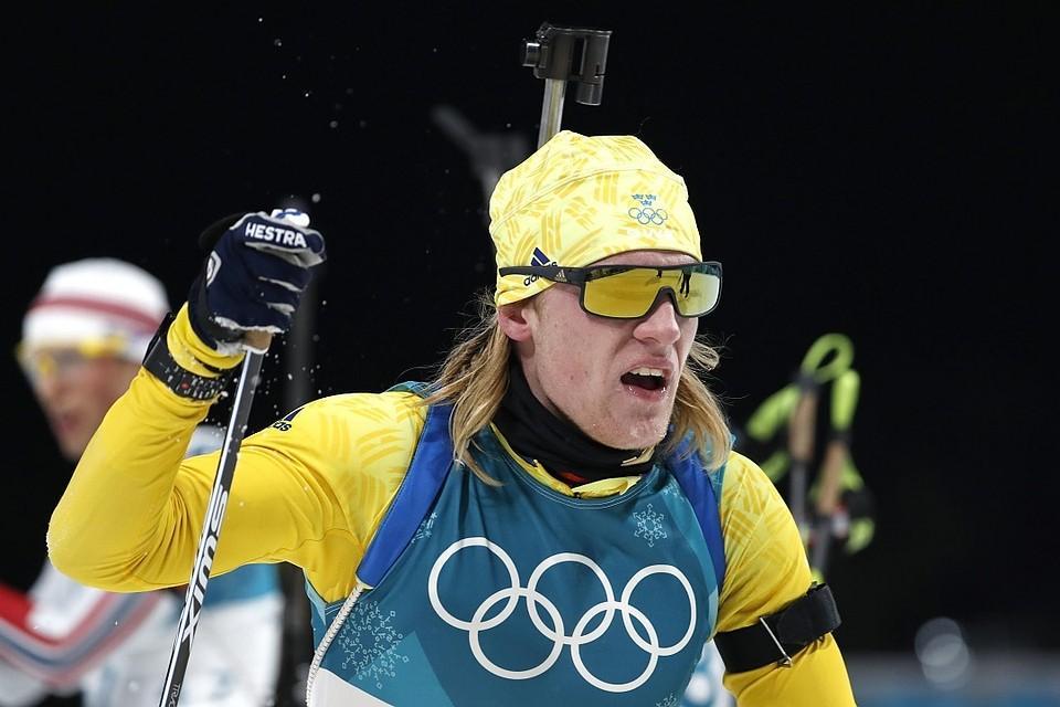 Лидер сборной Швеции Себастьян Самуэльссон / REUTERS