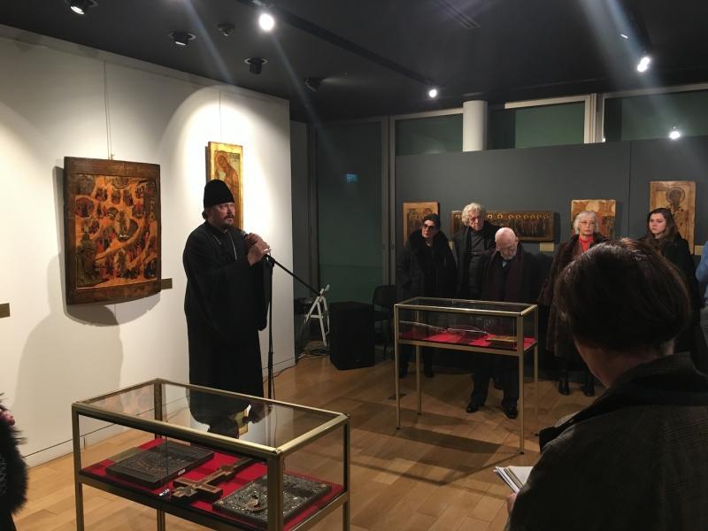 В Париже начала работу уникальная выставка икон XVI-XIX веков / cerkov-ru.eu