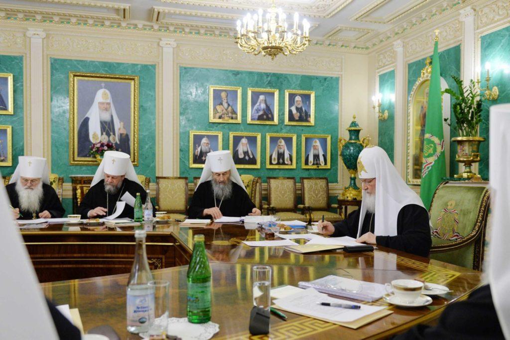 Митрополит Онуфрий принял участие в заседании Священного Синода / news.church.ua